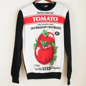 Love Moschino Italian Special Tomato Pullover